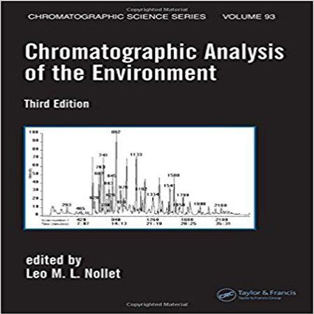 دانلود کتاب آنالیزهای کروماتوگرافی از محیط ویرایش 3 سوم Leo M.L. Nollet