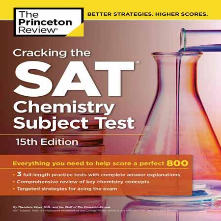 دانلود کتاب Cracking the SAT Chemistry Subject Test 15th Edition مجموعه تست شیمی