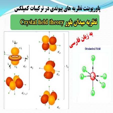 دانلود پاورپوینت نظريه پيوندی در تركيبات كمپلكس ، نظريه ميدان بلور Crystal field theory