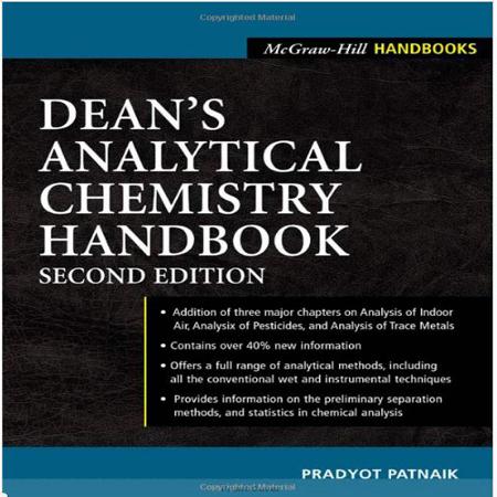 دانلود هندبوک تخصصی شیمی تجزیه ویرایش 2 Dean's Chemistry Handbook