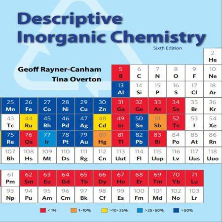 دانلود Descriptive Inorganic Chemistry کتاب شیمی معدنی توصیفی راینر ویرایش 6 ششم