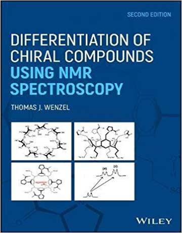 دانلود کتاب تفکیک ترکیبات کایرال با استفاده از طیف سنجی NMR ویرایش 2 دوم Thomas Wenzel