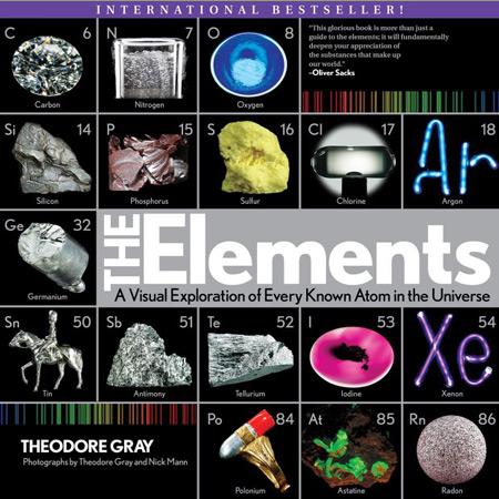 کتاب عناصر: اکتشاف بصری هر اتم شناخته شده در جهان Theodore Gray