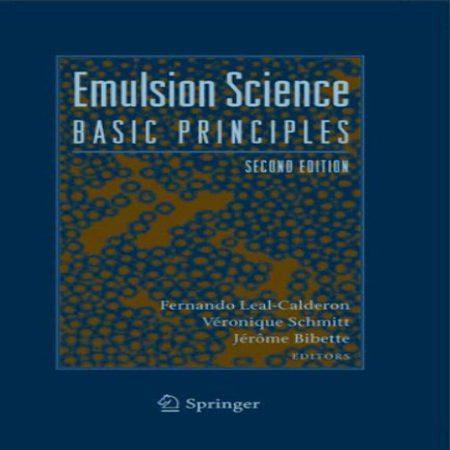 دانلود Emulsion Science کتاب علم امولسیون: مبانی و اصول پایه ویرایش 2 دوم