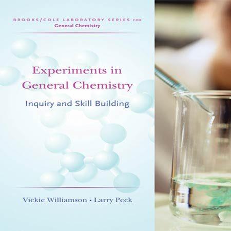 دانلود کتاب آزمایش ها در شیمی عمومی: تحقیق و مهارت ساخت ویرایش 1 Williamson