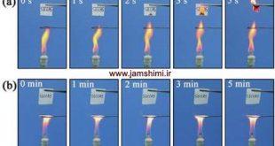جلوگیری از نابودی و آتش سوزی اسنادی کاغذی با ساخت کاغذ ضد آتش
