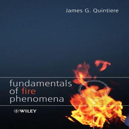 دانلود کتاب اصول و مبانی پدیده آتش سوزی James G. Quintiere