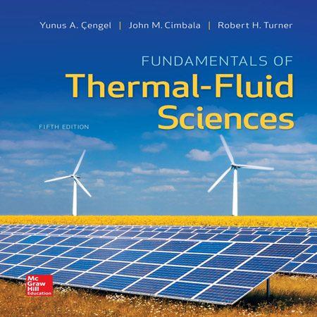 کتاب مبانی علوم سیال حرارتی ویرایش 5 پنجم یونس سنجل
