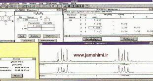 دانلود gNMR 5.0.6 نرم افزار رسم طیف NMR ترکیبات شیمی آلی و تفسیر آن ها