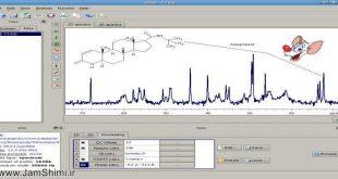 دانلود GSim - NMR spectroscopy 21.3 شبیه سازی و آنالیز طیف های NMR
