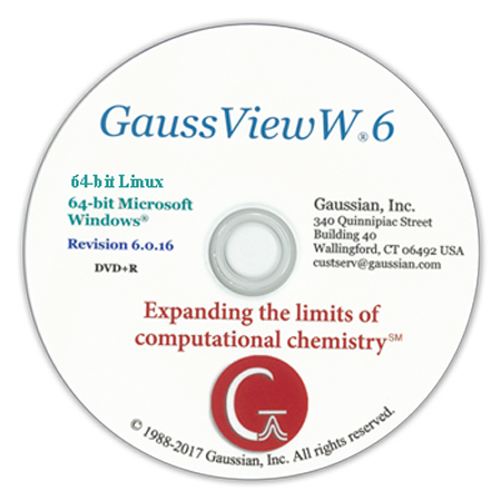 دانلود GaussView 6.0.16 Linux نرم افزار گوس ویو لینوکس