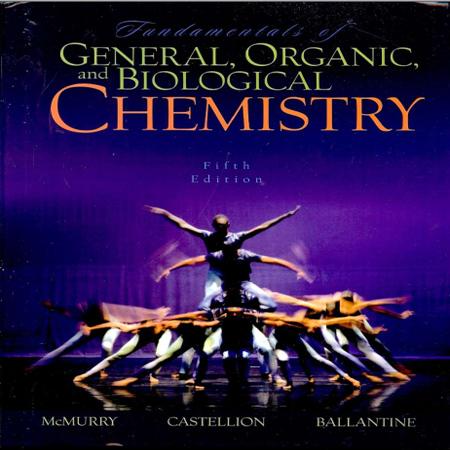 دانلود کتاب مبانی شیمی عمومی ، آلی و زیستی نوشته مک موری ویرایش 5