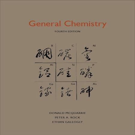 دانلود کتاب شیمی عمومی مک کواری ویرایش 4 McQuarrie General Chemistry