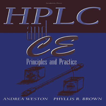 دانلود کتاب اصول و تمرین کروماتوگرافی HPLC و CE روش كاپیلاری الكتروفورز Andrea Weston