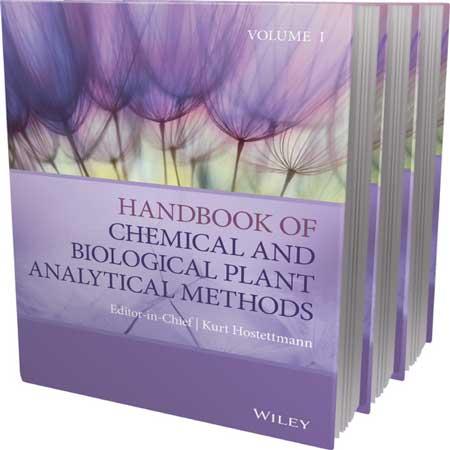دانلود هندبوک روش های آنالیز شیمیایی و بیولوژیکی گیاهان 3 جلدی Kurt Hostettmann