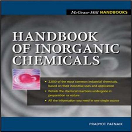 دانلود هندبوک شیمی معدنی پاتنایک Handbook of Inorganic Chemicals Patnaik