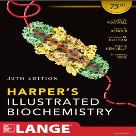 دانلود کتاب بیوشیمی مصور هارپر ویرایش 30 Harpers Illustrated Biochemistry