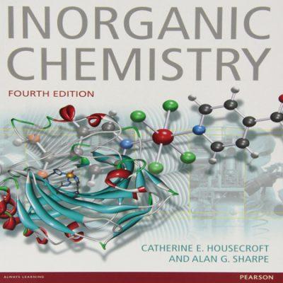دانلود کتاب شیمی معدنی هوس کرافت شارپ ویرایش 4 چهارم ، با حل المسائل