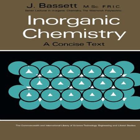 دانلود کتاب شیمی معدنی: یک متن مختصر J. Bassett