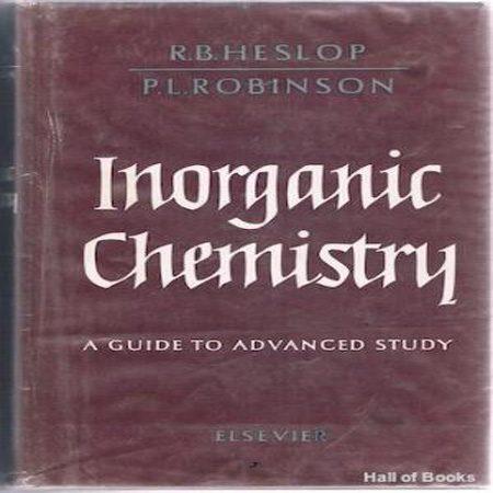 دانلود کتاب شیمی معدنی: راهنمای مطالعه پیشرفته ویرایش 2 دوم R.B. Heslop