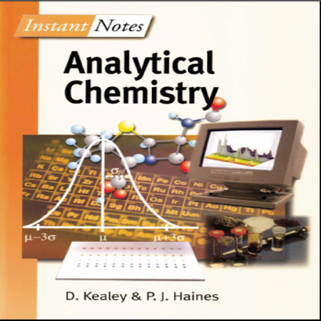 دانلود کتاب یادداشت های فوری شیمی تجزیه هاینس Instant Notes Analytical Chemistry