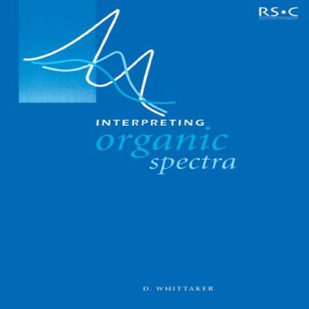 دانلود کتاب تفسیر طیف های آلی + حل المسائل ویتاکر David Whittaker