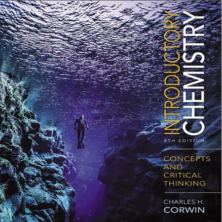 دانلود کتاب شیمی مقدماتی : مفاهیم و تفکر انتقادی چارلز کوروین Corwin ویرایش 8 هشتم 2017