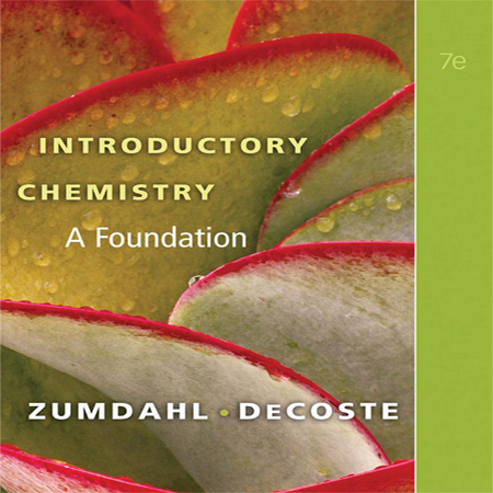 دانلود Introductory Chemistry: A Foundation کتاب شیمی مقدماتی زومدال ویرایش 7 هفتم