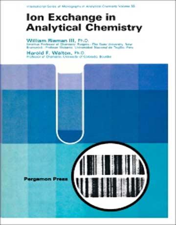 دانلود کتاب تبادل یون در شیمی تجزیه ویرایش 1 اول William Rieman