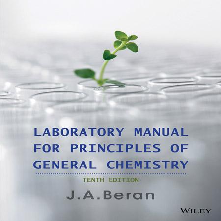 کتاب راهنمای آزمایشگاه برای اصول شیمی عمومی ویرایش 10 Jo Allan Beran