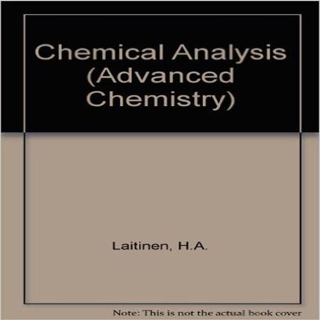 دانلود کتاب شیمی تجزیه لتینن ویرایش 2 Laitinen Chemistry