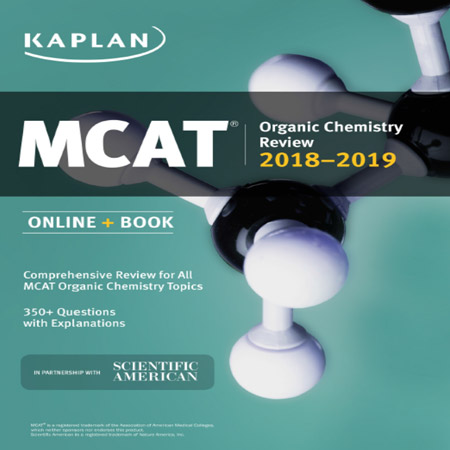 MCAT Organic Chemistry Review 2018-2019 کتاب شیمی آلی