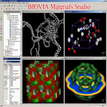 دانلود DS BIOVIA Materials Studio 2019 نرم افزار شبیه سازی مولکولی شیمی