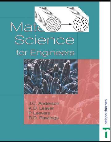 دانلود کتاب علم مواد برای مهندسین ویرایش 5 پنجم Anderson