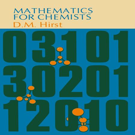 دانلود کتاب ریاضی برای شیمی و شیمیدان ها هرست ویرایش D. M. Hirst + حل المسائل