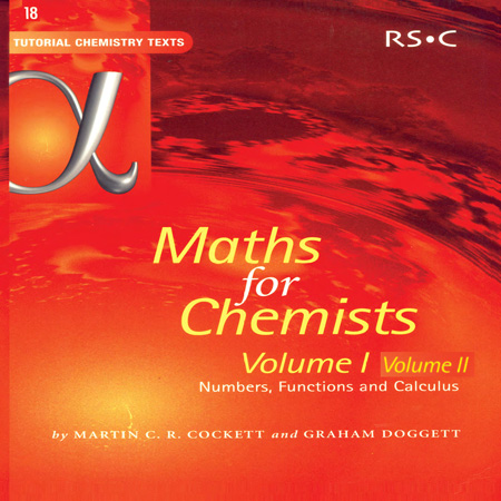 کتاب ریاضی برای شیمیدان جلد 1 و 2 Martin Cockett