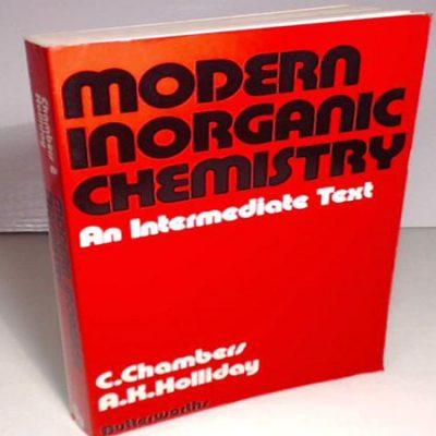 دانلود کتاب شیمی معدنی مدرن Modern Inorganic Chemistry An Intermediate Text