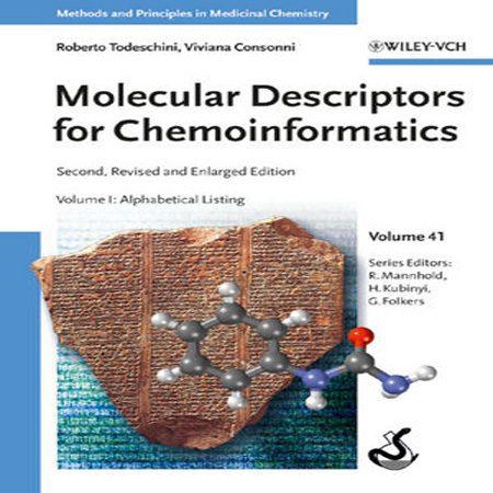 کتاب توصیف کننده های مولکولی برای کموانفورماتیک 2 جلد Roberto Todeschini