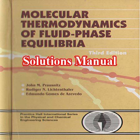 دانلود حل المسائل ترمودینامیک مولکولی پیشرفته تعادل فازی سیال پرازنیتز ویرایش 3