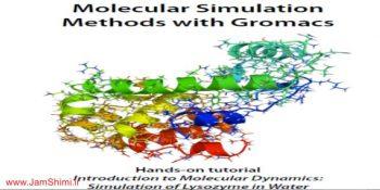 دانلود کتاب روش های شبیه سازی مولکولی با گرومکس Gromacs