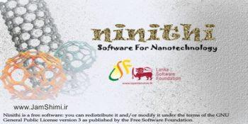 دانلود ninithi 1.0 نرم افزار تجسم و مدل سازی نانولوله های کربن و فولرن ها