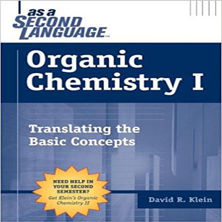 دانلود کتاب شیمی آلی 1 زبان دوم دیوید کلین ویرایش 1 David R. Klein