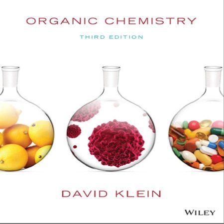 دانلود کتاب شیمی آلی کلین ویرایش 3 سوم Klein organic chemistry 3rd Edition