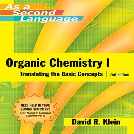 دانلود Organic Chemistry I as a Second Language کتاب شیمی آلی 1 کلین Klein