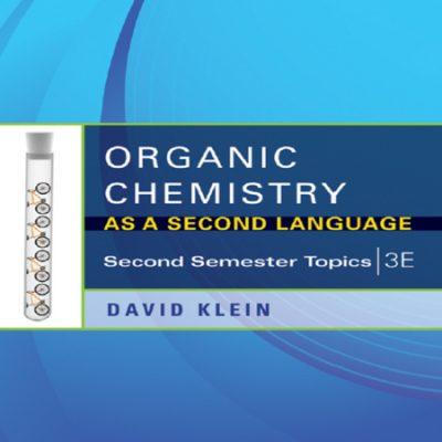 دانلود کتاب شیمی آلی به عنوان زبان دوم نوشته دیوید کلین ویرایش 3 + حل المسائل