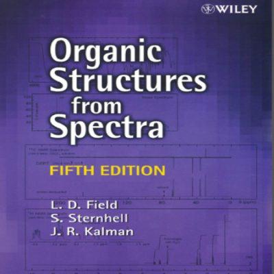دانلود کتاب طیف سنجی ترکیبات آلی فیلد و کالمن ویرایش 5 پنجم