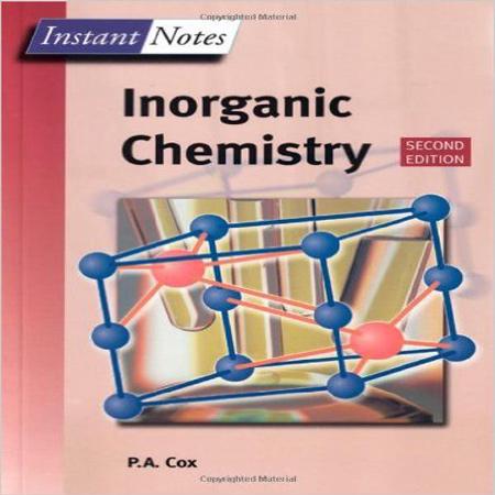 دانلود کتاب شیمی معدنی P.A.Cox Inorganic Chemistry ویرایش 2