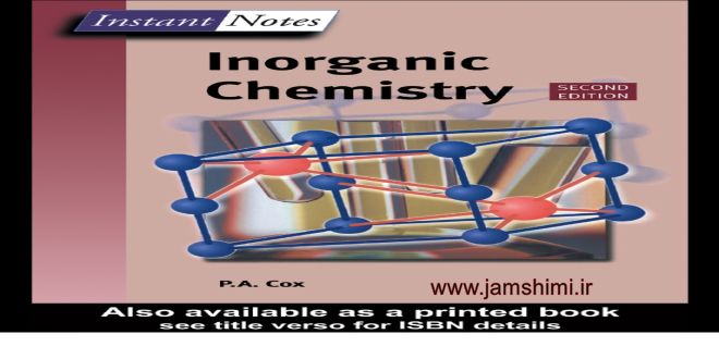 دانلود کتاب شیمی معدنی P.A.Cox Inorganic Chemistry 2th edition