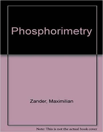 دانلود کتاب فسفریمیتری Phosphorimetry فسفر سنجی Zander