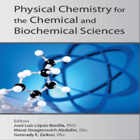 دانلود کتاب شیمی فیزیک برای علوم شیمیایی و بیوشیمی Jose Luis Lopez-Bonilla